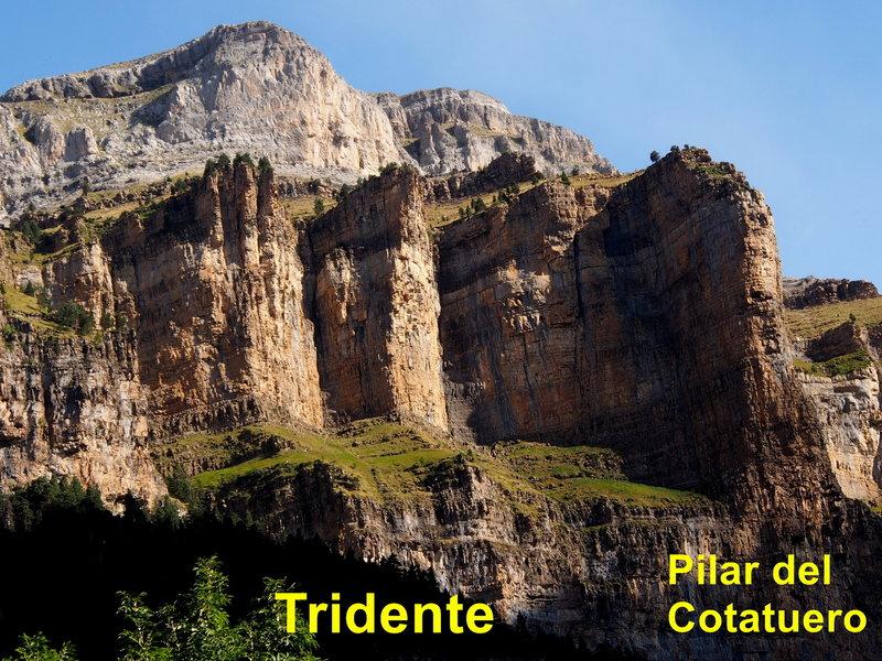 Tridente and Pilar del Cotatuero