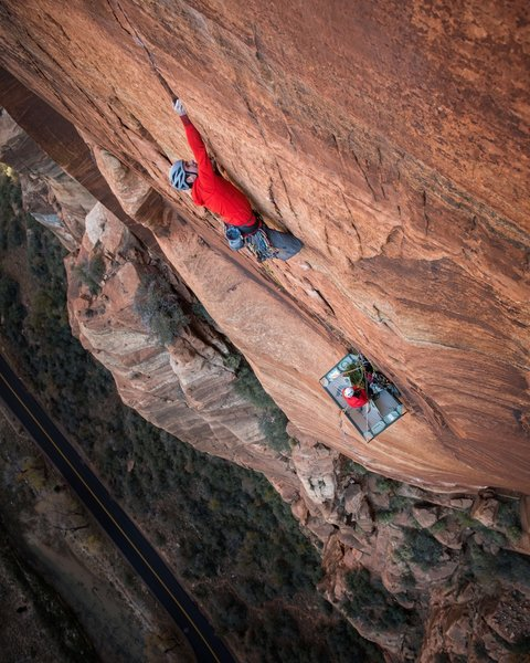The 12+ finger crack. Andy Earl photo