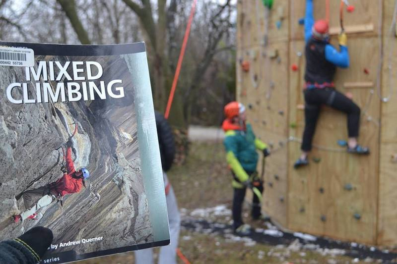 Dry Tool- Mixed climbing at the Ice Tower