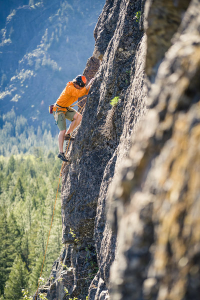 Fun Rock climbing