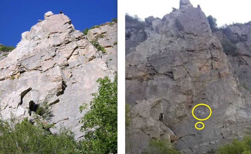 Heard big rockfall (probably smaller then I initially thought) on the right side of Glass Ocean and Environs on 10/7/2019. Exercise caution when climbing.The right photo was 20 min after there were other small falls too.