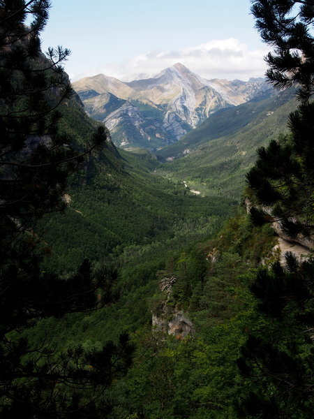 Fruacata Photo 1 - Looking down-valley