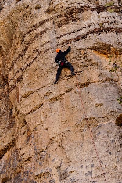Climbing Clean Slate. Sept., 2019.