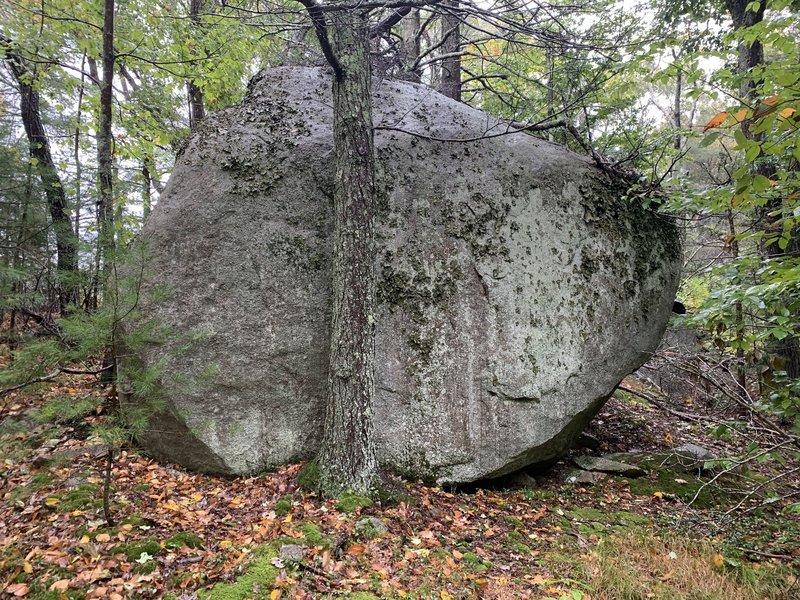 First Boulder proper.