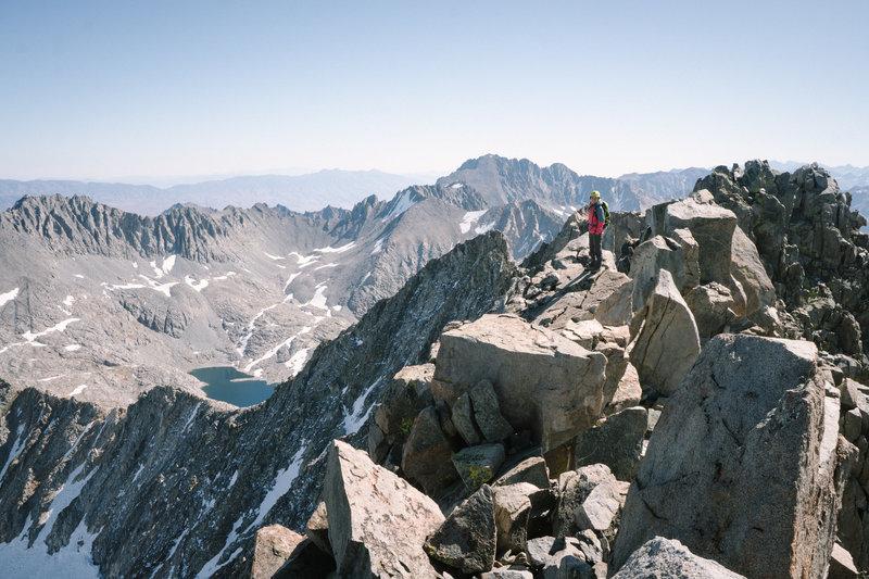 Summit ridgeline