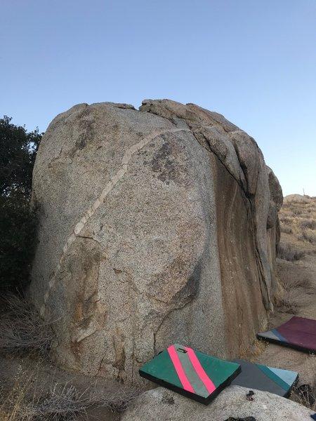 Easier problems on Backside Boulder