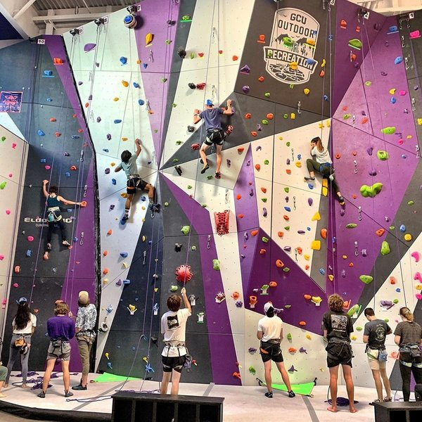 Grand Canyon University Climbing Wall