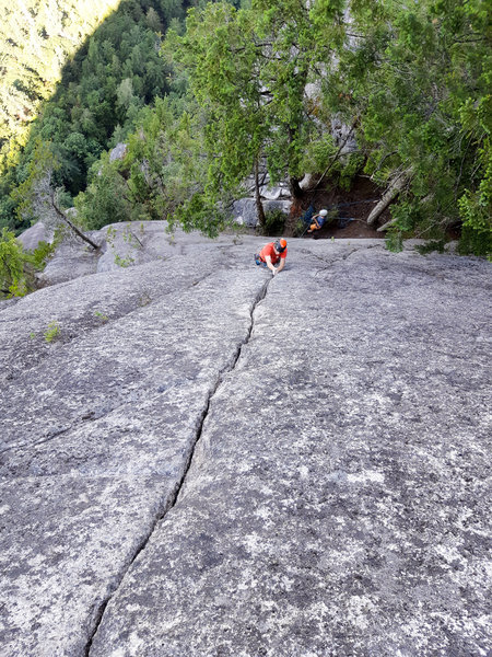 Pitch 7 - the final finger crack of Deep Impact.