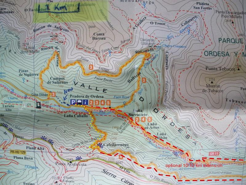 Hike to Mirador de Calzilarruego