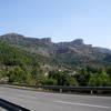 Approaching Cine Sector on the road outside of the town of La Pobla de Segur