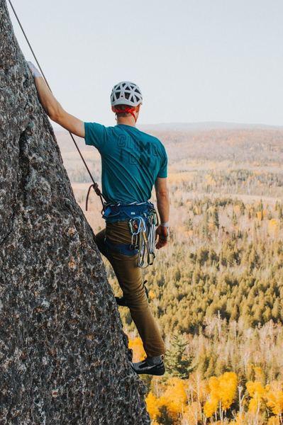 Kyle Ellefson taking in the views.<br> PHOTO: Conner Kranz