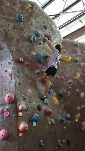 Sofia 1st climb