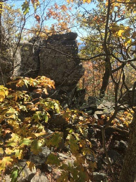 Blowtorch boulder