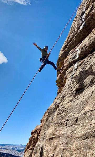 This route and all the others are good, short quality routes. Nothing too difficult on any but interesting climbing on all.
