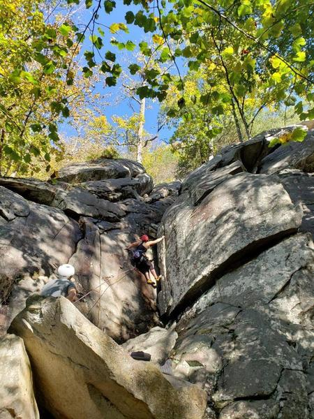 Sport Climbing on route One