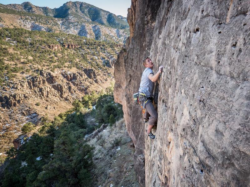 Great, thin climbing.