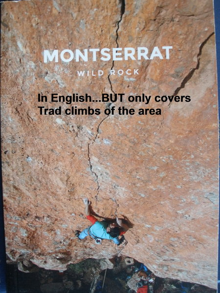 In English - a small book  Only Trad climbs