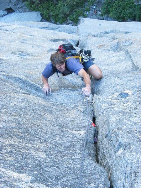 Mike Carville on pitch 2, SuperBanzai