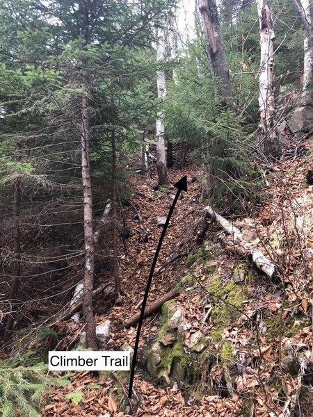 New Climber Trail