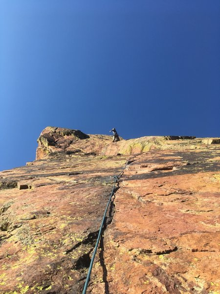 Micah Tedeschi finishing out the last pitch on the stellar slab.