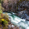 The rushing river in March
