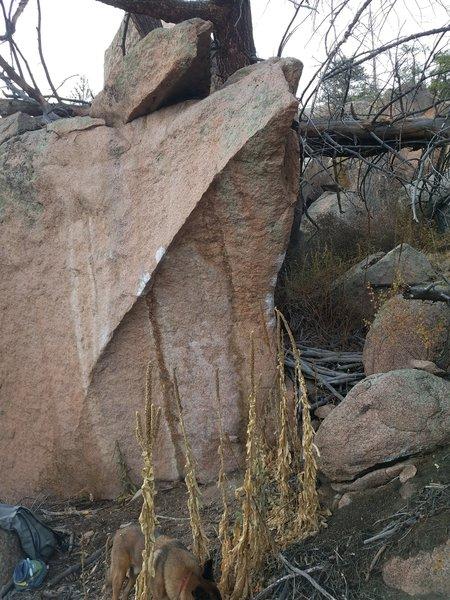 The Spire Boulder.