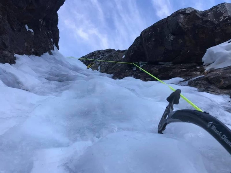 M4/AI3+ pitch mid mountain.  PC: Forrest Voss