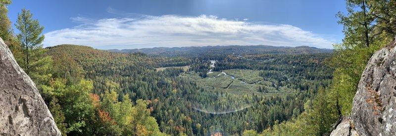 Val-David view
