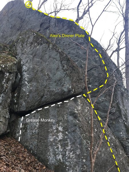 The Fin east face