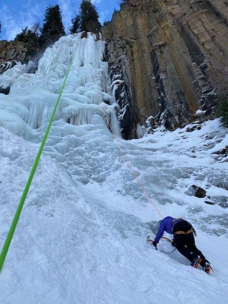 Palisade Falls start