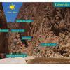Center Todgha gorges, Morocco