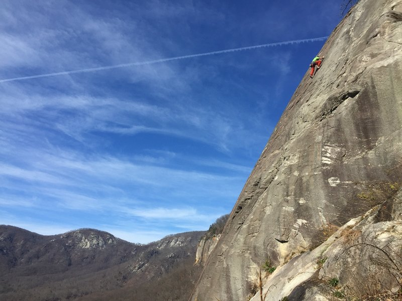 Nearing the 2nd crux