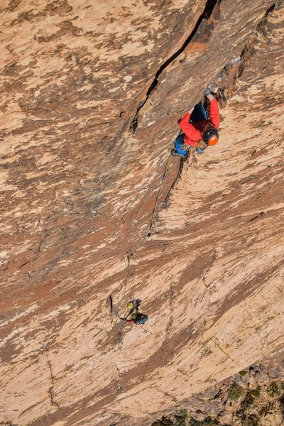an 80m will take you from the top of 7 to the top of 5 and set up a sweet shot of friends cruising the crux pitch... but its close enough where I wouldn't recommend it