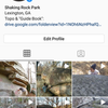 There is a rough guide to Shaking Rock's bouldering available for download in the bio.