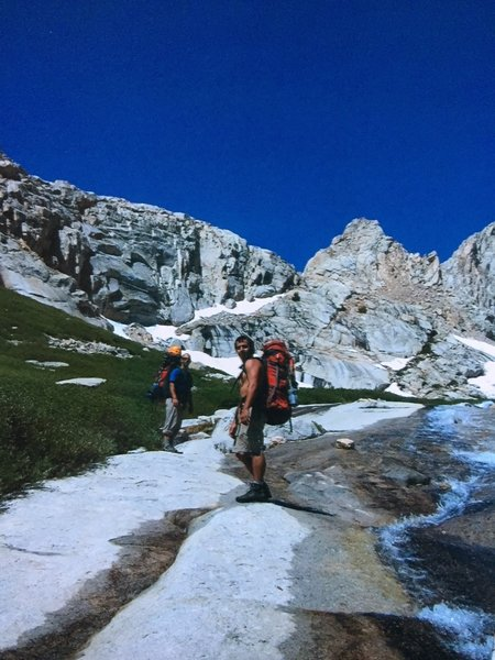 The path to Whitney Massif!