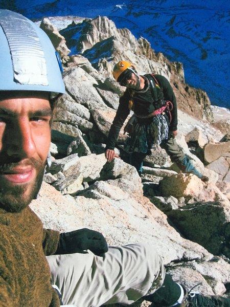 Summit selfie of Humphrey's circa 2008!