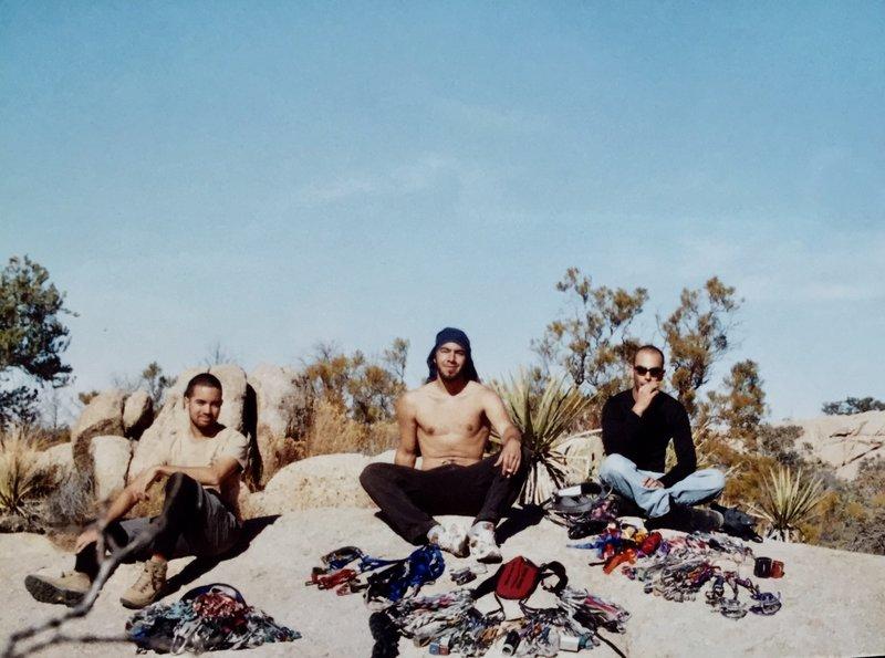 Nat, Bobathan and I, Baja California circa 2004!
