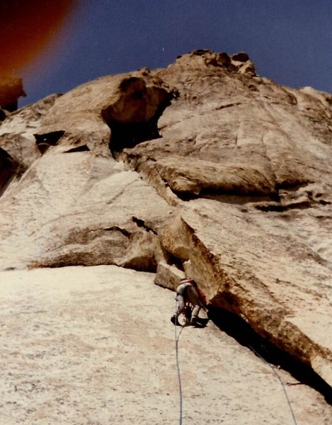 Paul Jakus on Pitch 1 of The American Pillar.