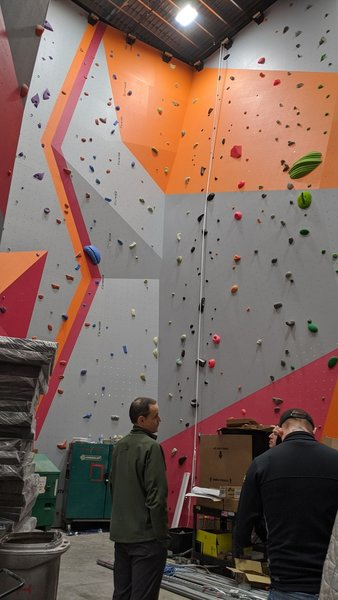 The Commons climbing gym, in Boise, Idaho