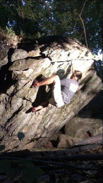 Working the horizontal crack