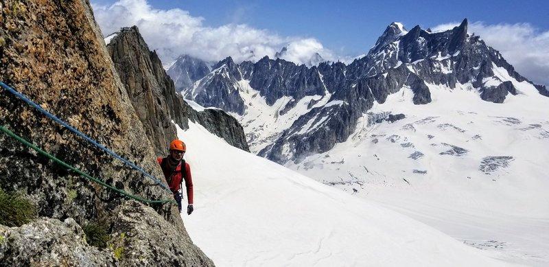 Alpine climbing in a nutshell