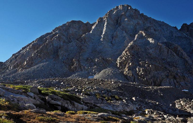 Peak 13,360 (Mt Gould) from Darwin Basin