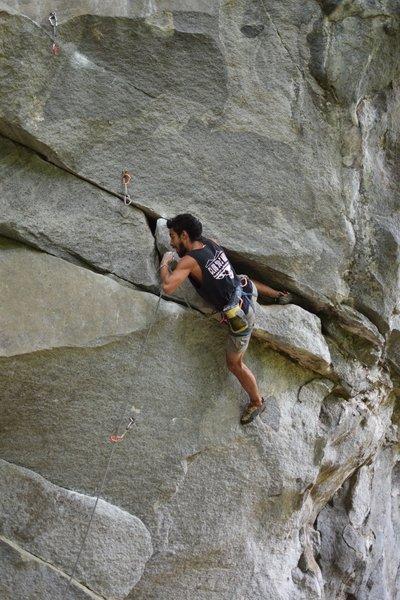 Such an athletic climb