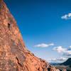 Enjoying a beautiful day at Red Rocks