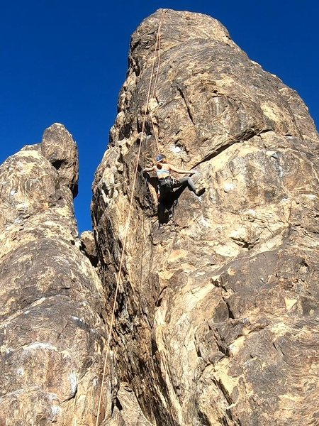 Haley working the Crux