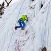 James Loveridge climbing something