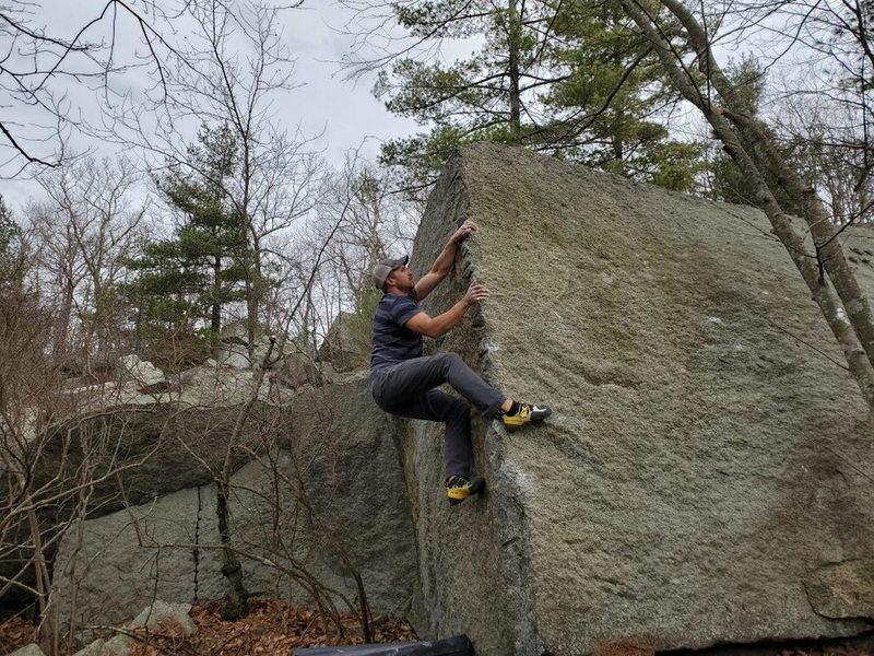 Fun arete climb.