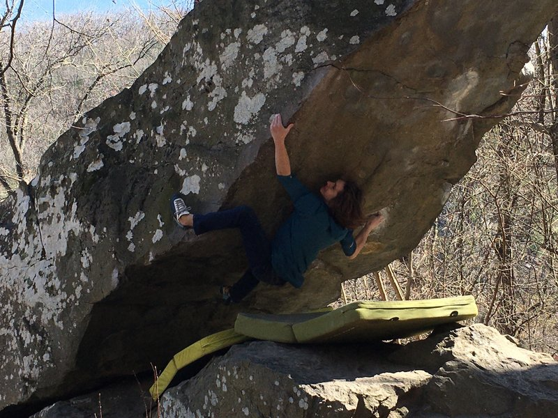 Trying hard on Moby (V10)