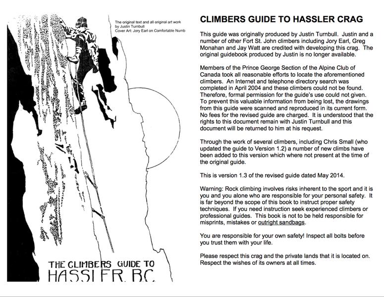Hassler Crag Climbing Guide