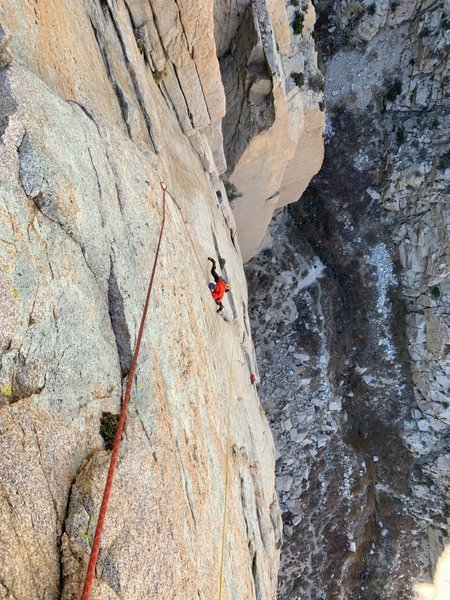 Max in the Crux of pitch 4